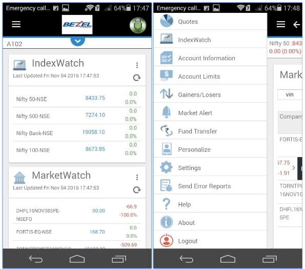 Bezel Securities Review Mobile App