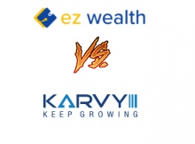 Karvy Online Vs EZ Wealth