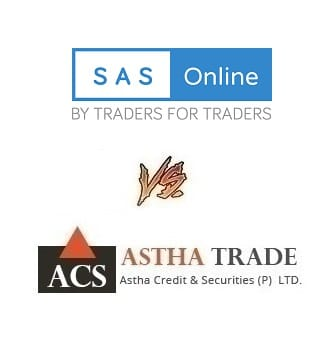 Astha Trade Vs SAS Online - Which Stock Broker is Best for ...