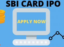 how to apply for sbi card ipo