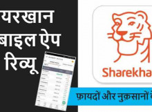 Sharekhan Mobile App Hindi