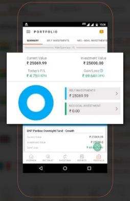 Sharekhan Insta MF Mobile App