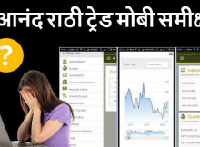 Anand Rathi Trade Mobi Hindi Review