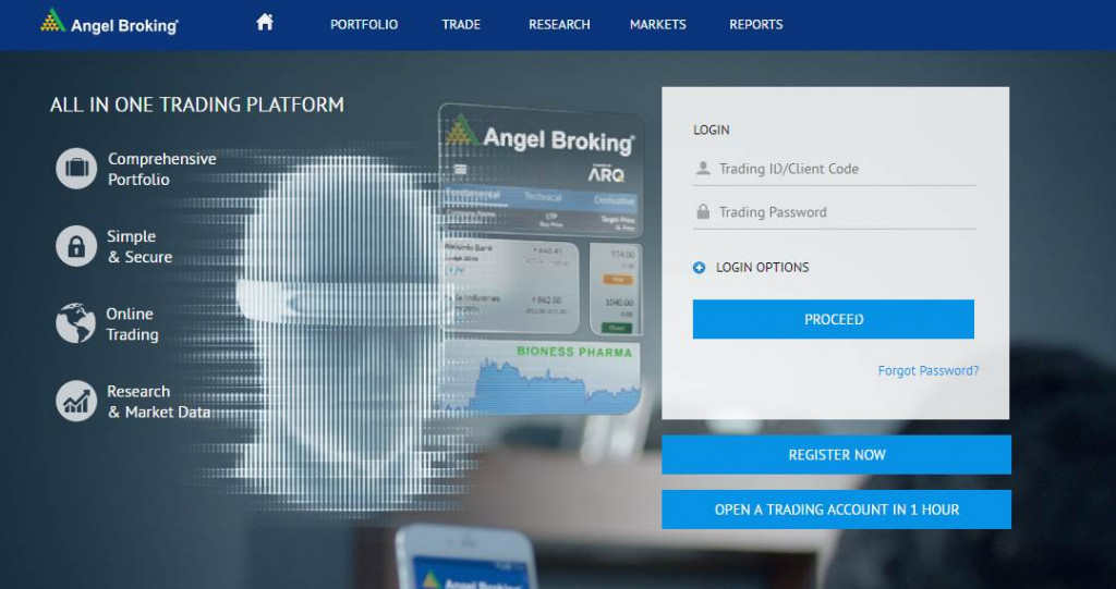 Angel Broking Trade Review